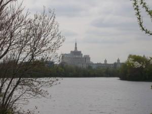 Bukarest-Koztarsasagi palota tavolrol