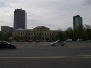 Bukarest Nemzeti konyvtar